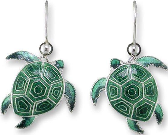 Zarah Co Jewelry 323301 Hawaiian Honu Earrings