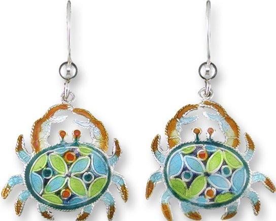 Zarah Co Jewelry 323501 Krabby Kaleidoscope Earrings
