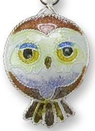 Zarah Co Jewelry 324601P Pygmy Owl Pendant