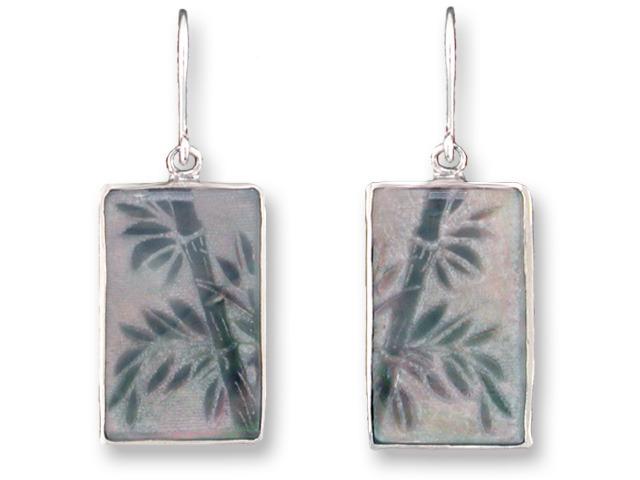 Zarah Co Jewelry 3301S1 Bamboo Earrings