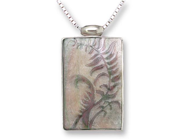 Zarah Co Jewelry 3305S7 Fern Necklace