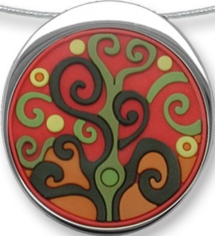 Zarah Co Jewelry 3315V7 Tree of Knowledge Necklace