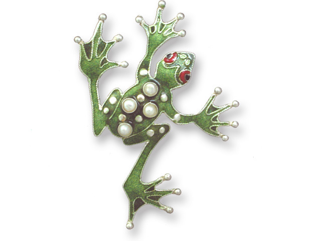 Zarah Co Jewelry 332902 Pearly Frog