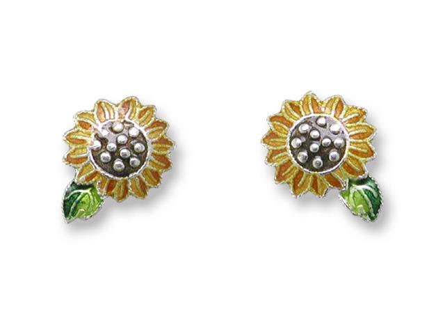 Zarah Co Jewelry 410201 Sunflower Post Earrings