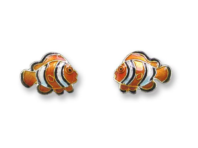 Zarah Co Jewelry 411401 Clownfish Post Earrings