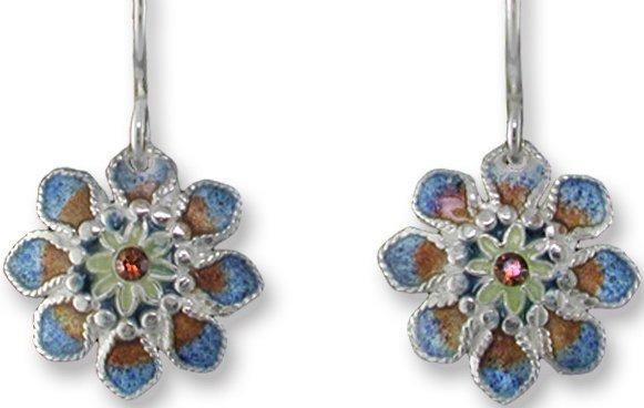 Zarah Co Jewelry 413701P Roman Bloom Pendant on Chain
