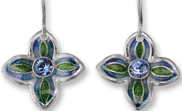 Zarah Co Jewelry 413901P Fleur Pendant on Chain