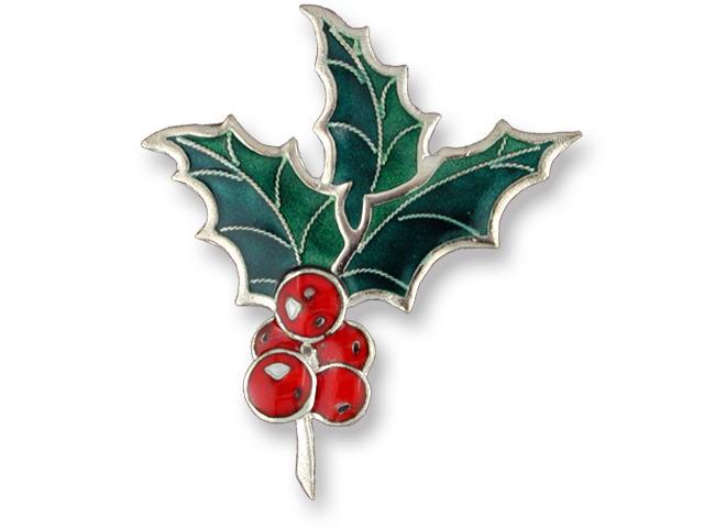 Zarah Co Jewelry 572292 Holly Pin Brooch