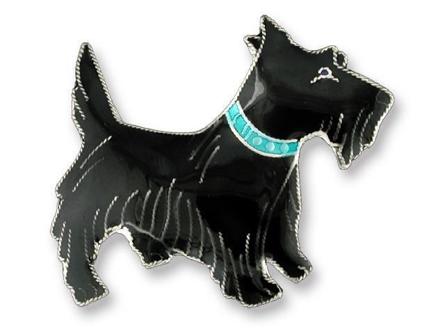 Zarah Co Jewelry 575002 Scottish Terrier Pin Brooch