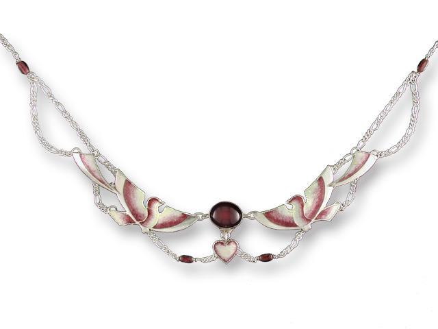 Zarah Co Jewelry 578477 Garnet Doves