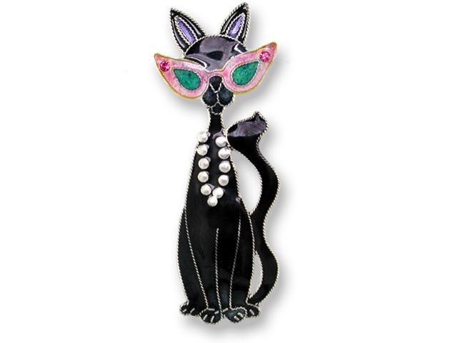 Zarah Co Jewelry 615002 Glamour Puss Pin Brooch