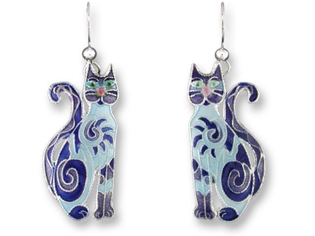 Zarah Co Jewelry 615401 Fancy Cat Earrings