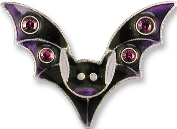 Zarah Co Jewelry 708892 Crystal Bat