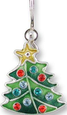 Zarah Co Jewelry 709091P Crystal Tree Pendant
