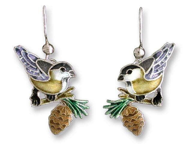 Zarah Co Jewelry 711301 Chickadee Earrings