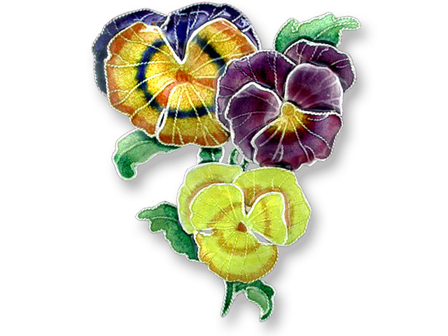 Zarah Co Jewelry 713602 Pansy