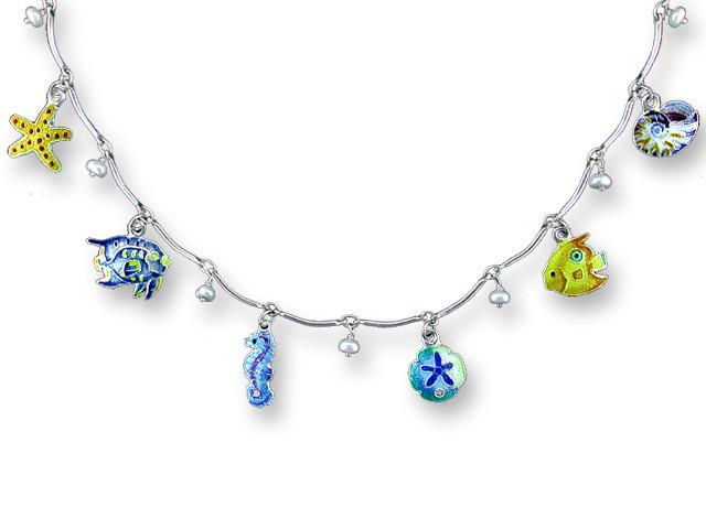 Zarah Co Jewelry 713957 Sea Charms Necklace