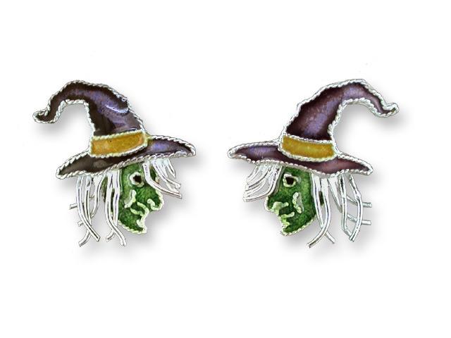 Zarah Co Jewelry 714691 Green Witch Earrings