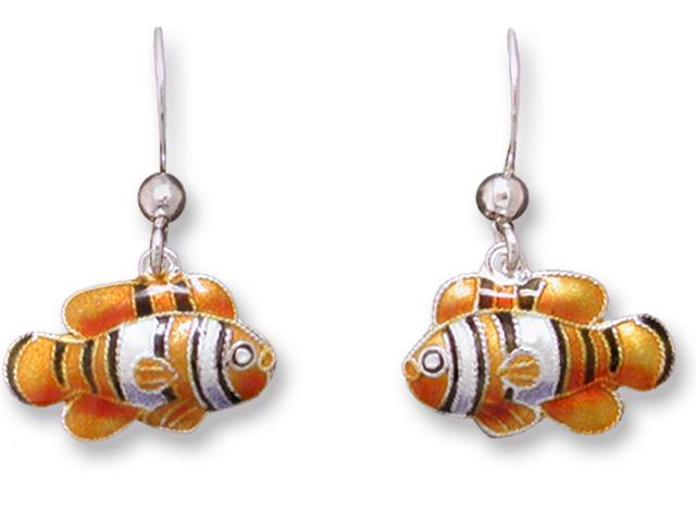 Zarah Co Jewelry 715301 Little Clownfish Earrings