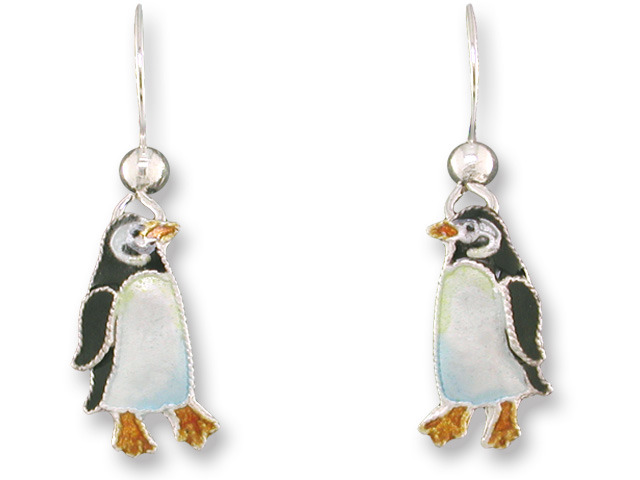 Zarah Co Jewelry 716201 Little Penguin Earrings