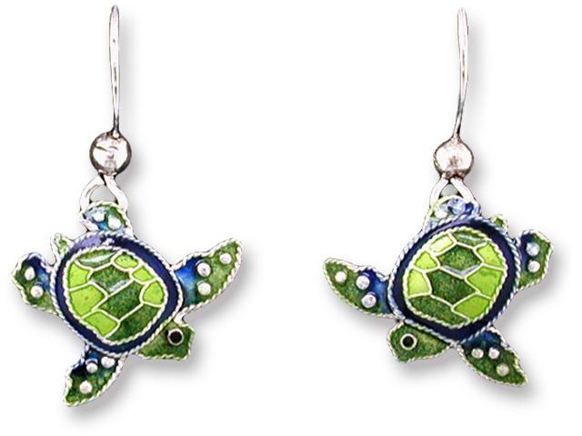 Zarah Co Jewelry 717001 Little Turtle Earrings