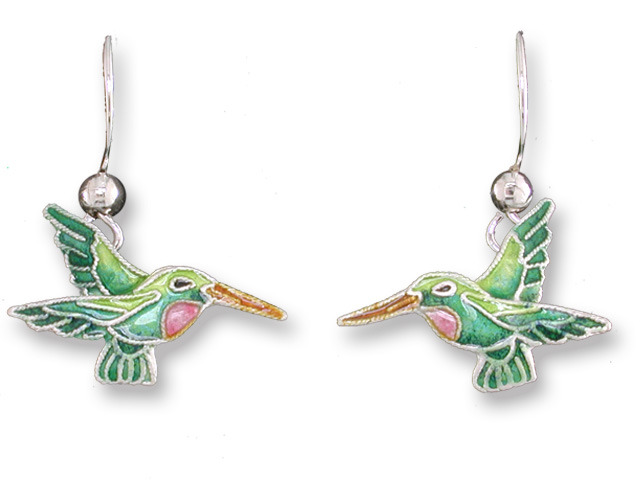 Zarah Co Jewelry 717101 Little Hummingbird Earrings