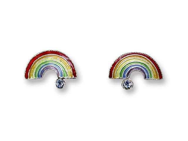 Zarah Co Jewelry 719901 Rainbow Post Earrings