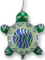 Zarah Co Jewelry 0105Z1P Calypso Turtle Pendant on Chain
