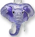Zarah Co Jewelry 0709Z1P Little Elephant Pendant on Chain