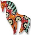 Zarah Co Jewelry 2004Z2 Horse Radiance Pin