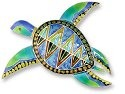 Zarah Co Jewelry 201402 Island Turtle Pin Brooch