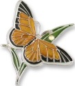 Zarah Co Jewelry 2105Z2 Monarch Butterfly Pin