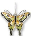 Zarah Co Jewelry 2106Z1P Tiger Swallowtail Pendant on Chain