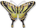 Zarah Co Jewelry 2106Z2 Tiger Swallowtail Pin