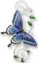 Zarah Co Jewelry 2126Z2 Dark Tiger Swallowtail Pin