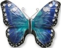 Zarah Co Jewelry 2905Z2 Blue Morpho Pin