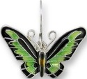 Zarah Co Jewelry 2923Z1P Rajah Brooke's Birdwing Pendant