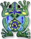 Zarah Co Jewelry 320802 Frog Montage Pin Brooch