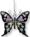 Zarah Co Jewelry 3226Z1P Purple Spotted Swallowtail Pendant