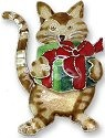 Zarah Co Jewelry 330292 Gifted Kitty Pin Brooch