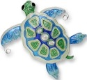 Zarah Co Jewelry 3302Z2 Pearly Turtle Pin