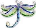Zarah Co Jewelry 332702 Pearly Dragonfly