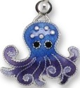 Zarah 414301P Octopus Dangle Pendant