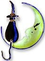 Zarah Co Jewelry 714492 Witch Cat Pin Brooch